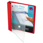 "Avery See Thru™ 1"" View Binder, Red"