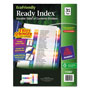 Avery Index Tabs, 1-31, Multicolor