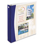"Avery Comfort Touch Durable View Binder with Slant D Rings, 1 1/2"", Blue/White"