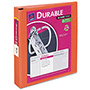 "Avery Durable View Binder with Slant Rings, 11 x 8 1/2, 1 1/2"" Capacity, Orange"