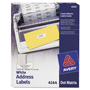 "Avery Dot Matrix Printer Multipurpose White Labels, 2 1/2""x1 5/16"", 3000 per Pack"