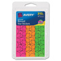 "Avery Reward Star Stickers, 3/4"", Multicolor"