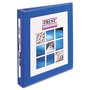 "Avery Framed EZ Turn Ring View Binder, 1/2"" Capacity, Royal Blue"