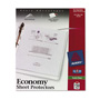 Avery Economy Semi-Clear Sheet Protectors, Acid-Free, Box of 150