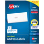 "Avery White Ink Jet Mailing Labels, 1""x2 5/8"", 3,000 per Pack"