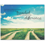 "Advantus Motivational Canvas Print, Two Roads, 28"" x 22"", AST"