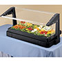 Cambro Cambro Tabletop Buffet Bar w/Sneeze Guard, Black