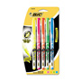 Bic Highlighter, Five Color Set, Fluorescent Colors