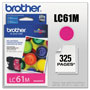 Brother LC61M Magenta Ink Cartridge, 500 Pages