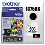 Brother Ink Cartridge, 600 Page Yield, Black