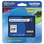 "Brother Laminated Tape Cartridge, For TZ Models, 3/8"", Black/White"