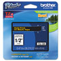 "Brother Laminated Tape Cartridge, For TZ Models, 1/2"", Gold/Black"