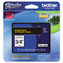 "Brother Lettering Tape, 3/4"" Size, Gold/Black"