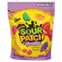 Sour Patch Kids® Fruits Chewy Candy, Assorted Fruit Flavor, 10 oz Bag, 12/Carton