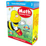 Carson Dellosa Publishing Company Math Learning Games, 4 Game Boards, 2-4 Players, Grade 2