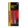 Consolidated Stamp Blades for Light Duty Snap Off Cartridge Utility Knives, 10 Blades per Pack
