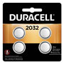 Duracell Lithium Medical Battery, 3V, 2032, 4 per Pack