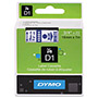 "Dymo D1 Tape Cartridge for Electronic Label Makers, Blue on White, 3/4"" w x 23 ft."