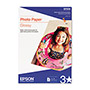 Epson Ink Jet Photo Paper, Super B Size (13 x 19), 20 Sheets/Pack