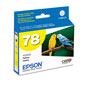 Epson Inkj Cart #78 Yellow