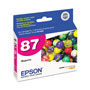 Epson T087320 Inkjet Cartridge, Magenta