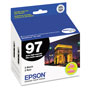 Epson T097120D2 Extra High-Yield Inkjet Cartridge, Black