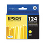 Epson Ink Cartridge, 220 Page Yield, Yellow