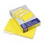 Pendaflex File Folders, Recycled, 2 Tone Yellow, Legal Size, Top Tab, 1/3 Cut, 100/Box