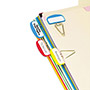 Pendaflex PileSmart Label Clip File Organizers, Blue/Red/Yellow, 12/Pack