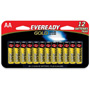 Energizer Gold A91BP-12H Alkaline Batteries, AA