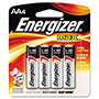 Max® E91BP-4 Alkaline Batteries, AA