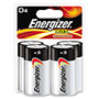 Energizer E95BP-4 Alkaline Batteries, D