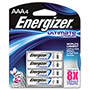 Energizer L92BP-4 Lithium Batteries, AAA