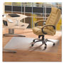 "Floortex ClearTex Advantagemat PVC Chair Mat for Hard Floors, 45""x53"""