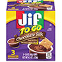 Folgers Jif To Go Snack Cups, 1.5 oz, 3/PK, Chocolate Silk
