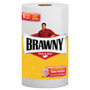 Brawny Pick-A-Size Perforated Paper Towels, 2-Ply, 11 x 6, White, 6 Rolls/Pack