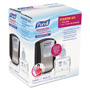 Purell LTX-7 Advanced Instant Hand Sanitizer Kit, 700mL, Touch-Free, Chrome/Black