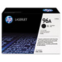 HP 96A Black Toner Cartridge, Model C4096A, Page Yield 5000
