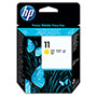 HP 11 Yellow Ink Cartridge ,Model C4813A ,Page Yield 24000