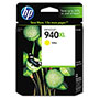 HP 940XL Yellow Ink Cartridge ,Model C4909AN ,Page Yield 1400