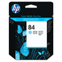 HP 84 Cyan Ink Cartridge ,Model C5020A ,Page Yield 1430