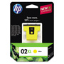 HP 02XL Yellow Ink Cartridge ,Model C8732WN ,Page Yield 750