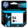 HP 94 Black Inkjet Cartridge, Model C8765WN, 480PGS Page Yield