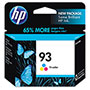 HP 93 Cyan/Magenta/Yellow Ink Cartridge ,Model C9361WN ,Page Yield 220