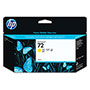 HP 72 Yellow Ink Cartridge ,Model C9373A ,Page Yield 800