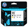 HP 72 Back and Yellow Ink Cartridge ,Model C9384A ,Page Yield 105000