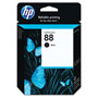 HP 88 Black Ink Cartridge ,Model C9385AN ,Page Yield 850