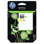 HP 88 Yellow Ink Cartridge ,Model C9393AN ,Page Yield 1540