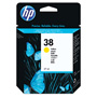 HP 38 Yellow Ink Cartridge ,Model C9417A ,Page Yield 2200