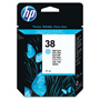 HP 38 Cyan Ink Cartridge ,Model C9418A ,Page Yield 4400
